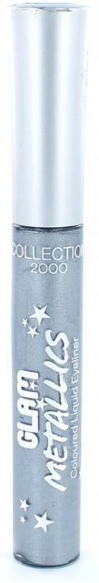 Collection 2000 Eyeliner Glam Metallics Coloured Liquid - 1 Vinyl - Grijs - Eyeliner
