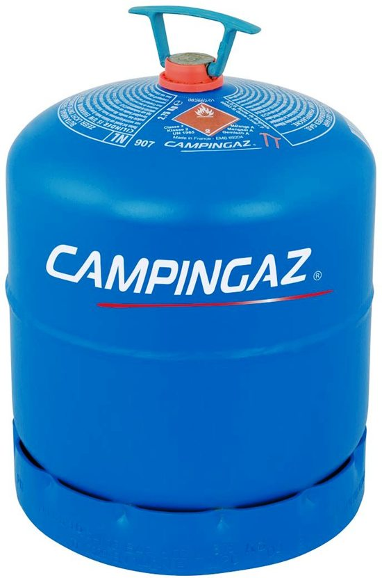 Camping Gasfles 5 Kg.Campingaz 907 Navulbare Gasfles Inhoud 2 75kg