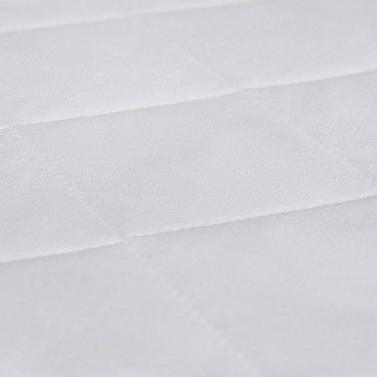 Matras - 120x190  - comfortschuim - microvezel tijk - wit neu