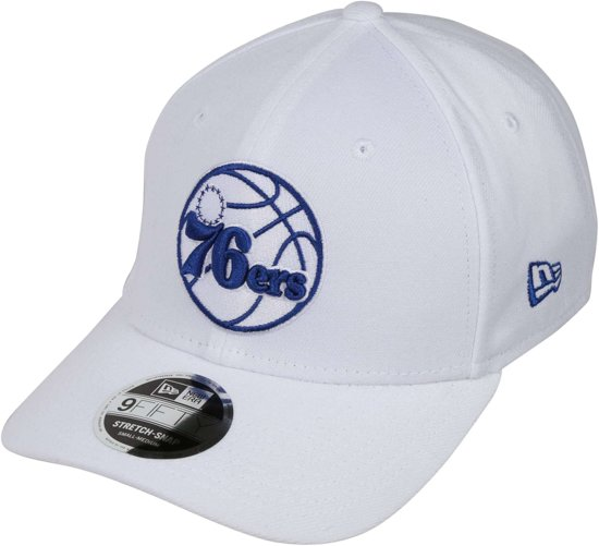 New Era pet white base stretch snap 9fifty Wit-s/m (56-57)