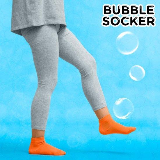 Zeepbellenspel met Magische Sokken