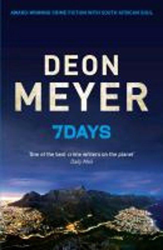 Afbeeldingsresultaat voor deon meyer 7 days