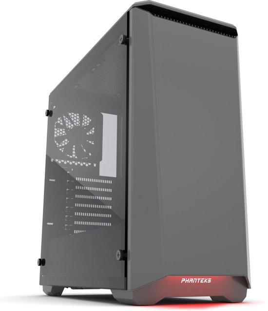 Phanteks Eclipse P400 Tempered Glass Midi-Toren Grijs