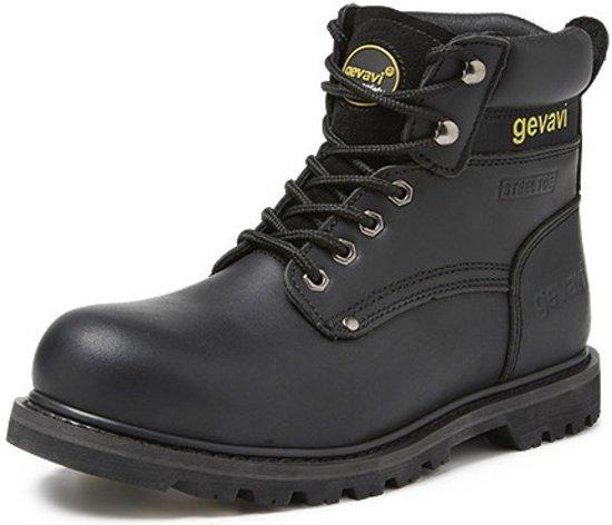 Gevavi Safety GS75 Boston hoge veiligheidsschoen S3 zwart maat 40
