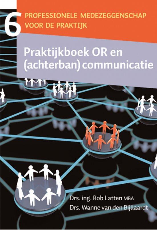 Afbeeldingsresultaat voor praktijkboek or en (achterban)communicatie