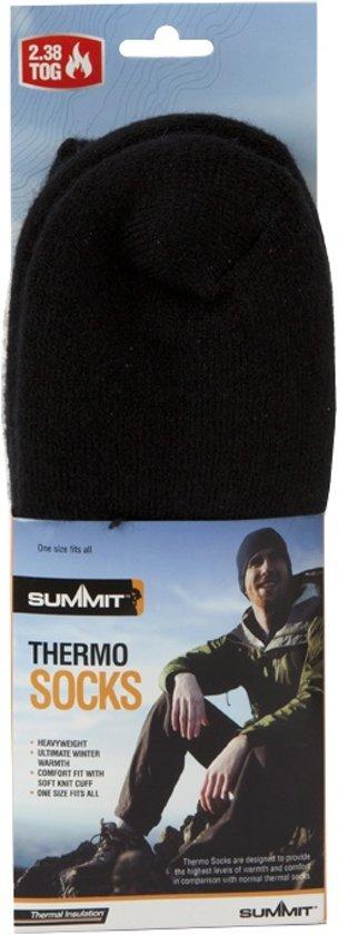 Unisex Per Thermosokken Paar Summit Zwart n1qwPRRY