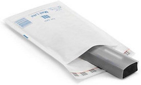 Mail Lite D/1 luchtkussenenveloppen 180x260mm. wit (100 st)