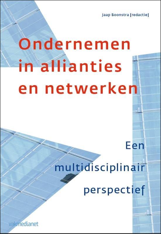 Ondernemen in allianties en netwerken