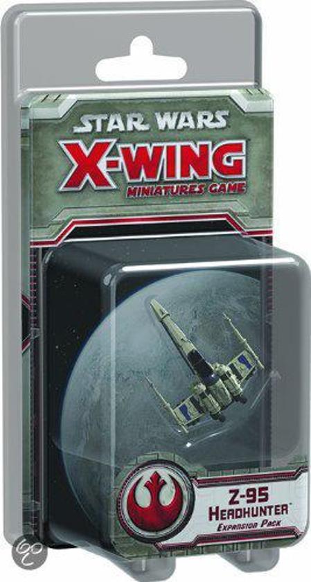 Afbeelding van het spel Star Wars X-wing Z-95 Headhunter Expansion Pack - Uitbreiding - Bordspel