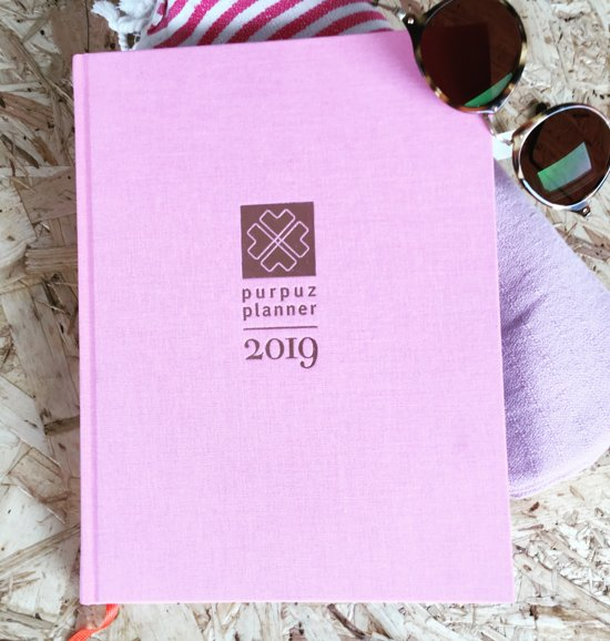 Purpuz Planner 2019 - PINK (limited)