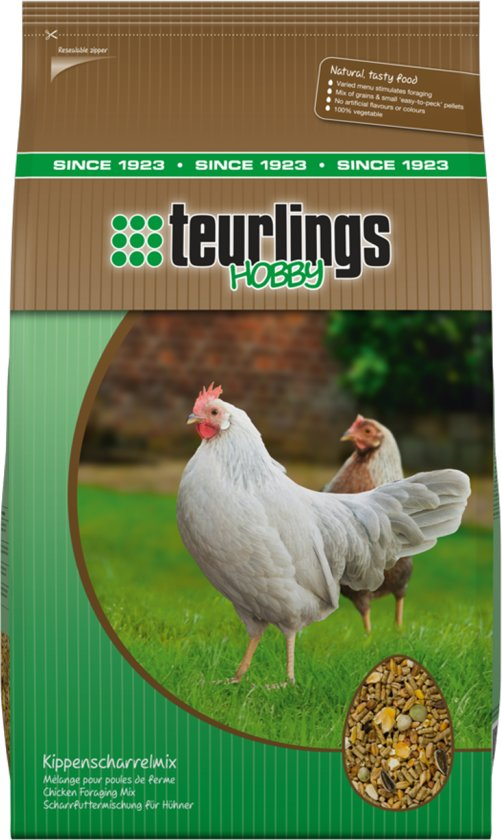 Teurlings Kippenscharrelmix - 5 KG