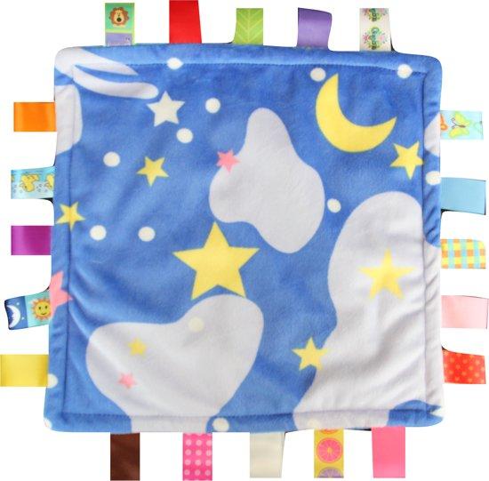 Knuffeldoek Labeldoek Baby Nacht