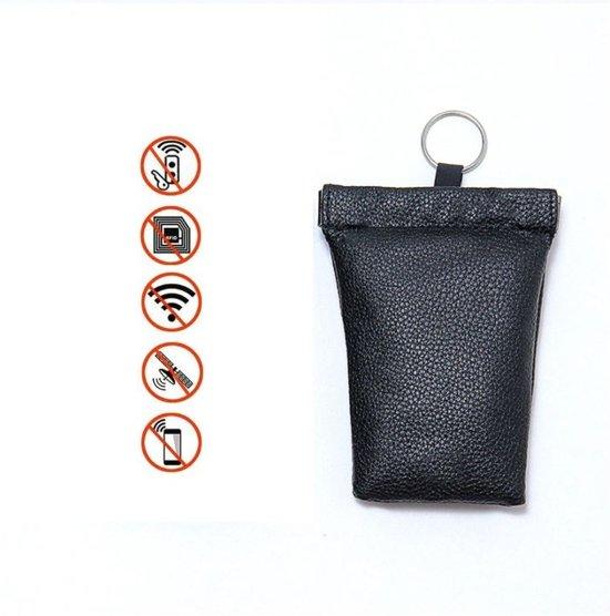 RFID Sleuteletui portemonnee sleuteltasje knijpportemonnee anti autodiefstal