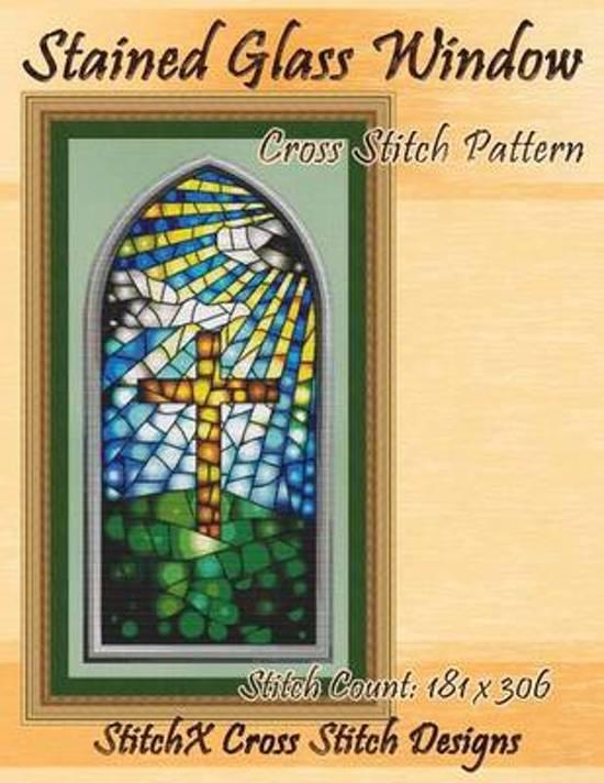 Stained Glass Window Cross Stitch Pattern