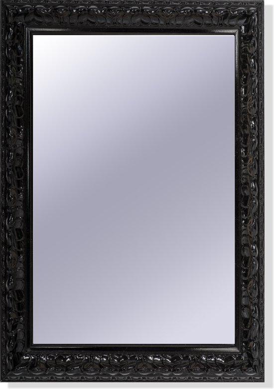 Wandspiegel Met Sierlijst.Bol Com Spiegel Met Zwarte Sierlijst
