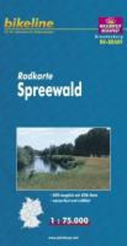 Spreewald Cycle Map