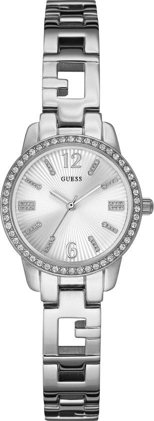 GUESS Watches - W0568L1 Charming - Horloge - 27.5 mm - Zilverkleurig