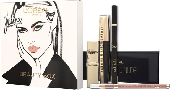 L'Oréal Paris Kristina Bazan Make-up Kit Giftbox - Geschenkset