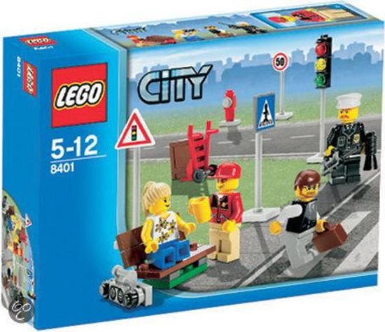 LEGO City Inwoners - 8401