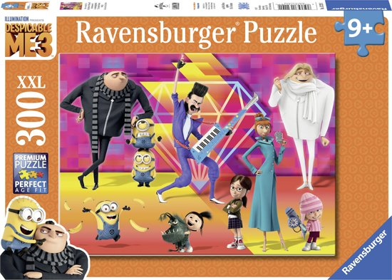 Ravensburger puzzel Despicable Me 3 - legpuzzel - 300 stukjes