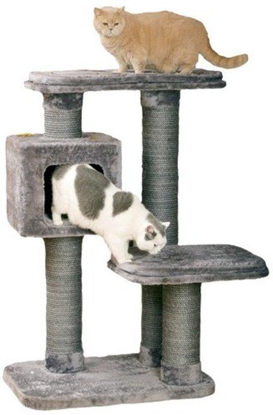 Krabpaal big cat - Grijs 97x76x12