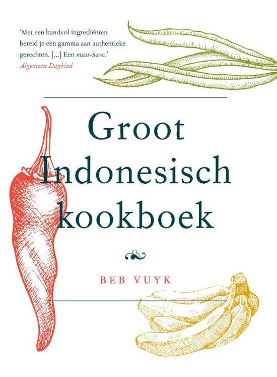 Boek cover Het groot Indonesisch kookboek van Beb Vuyk (Hardcover)