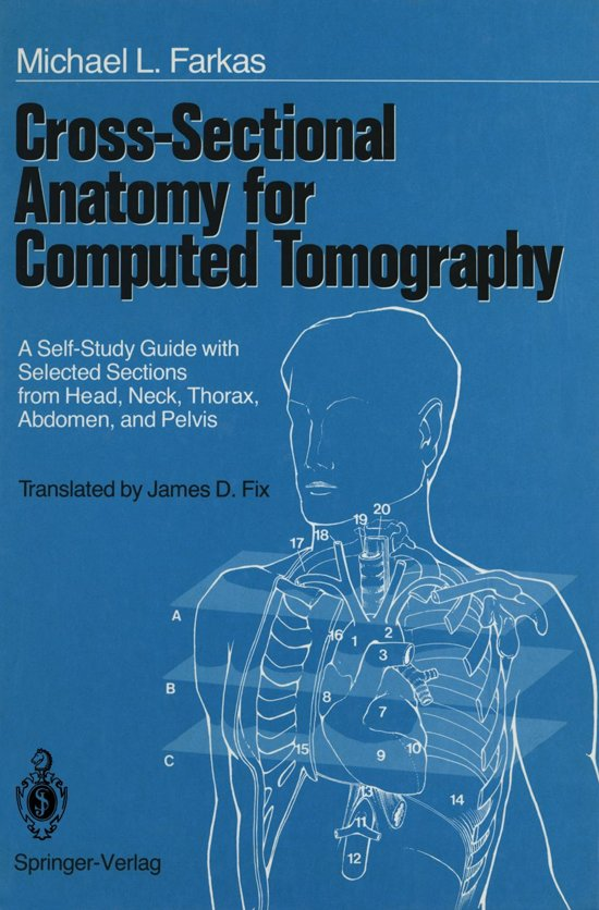bol.com | Cross-Sectional Anatomy for Computed Tomography (ebook), S ...