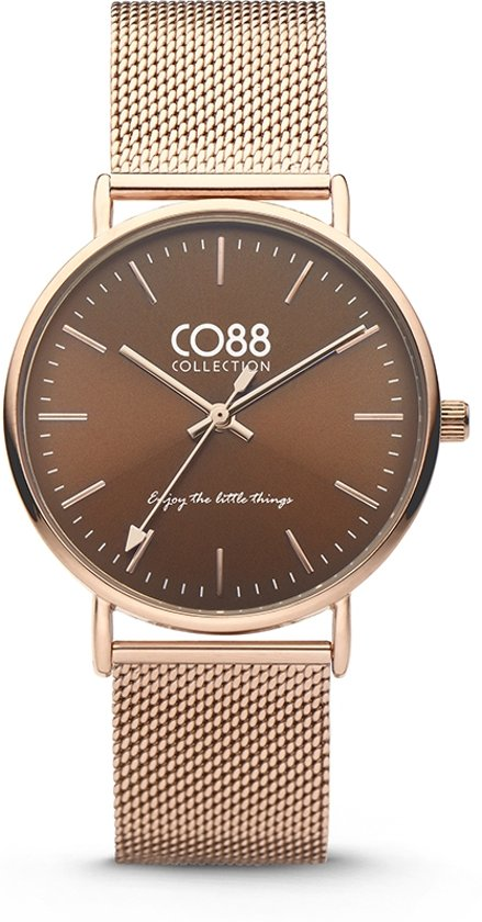 CO88 Collection 8CW-10011 - Horloge - Mesh - rosékleurig - 36 mm