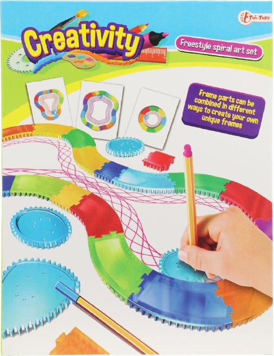 Toi-toys Spirografie Racebaan Xxl