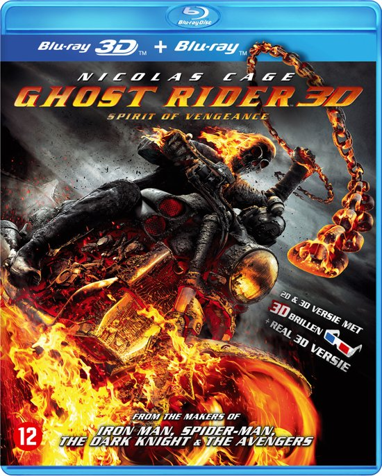 Ghost Rider: Spirit Of Vengeance (3D & 2D Blu-ray)