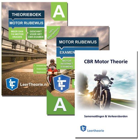 (NIEUW!) Motor Theorie Boek 2019 + Online Examenoefeningen + Samenvatting