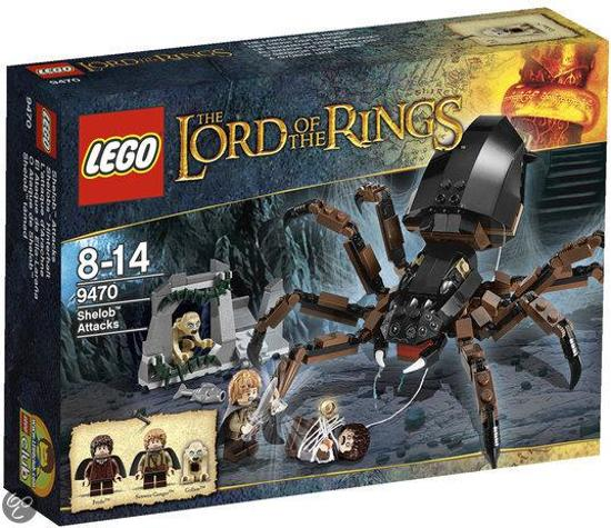 LEGO Lord of the Rings Aanval van Shelob - 9470