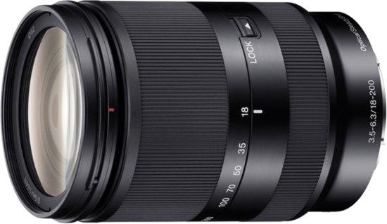 Sony E 18-200mm f/3.5-6.3 OSS LE