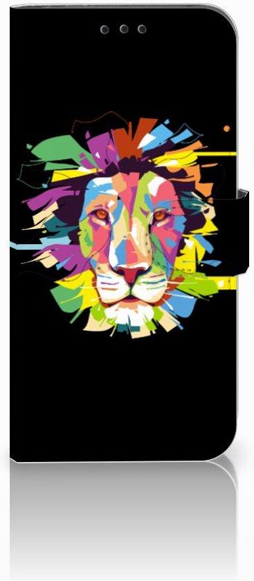 Nokia 8.1 Uniek Boekhoesje Lion Color
