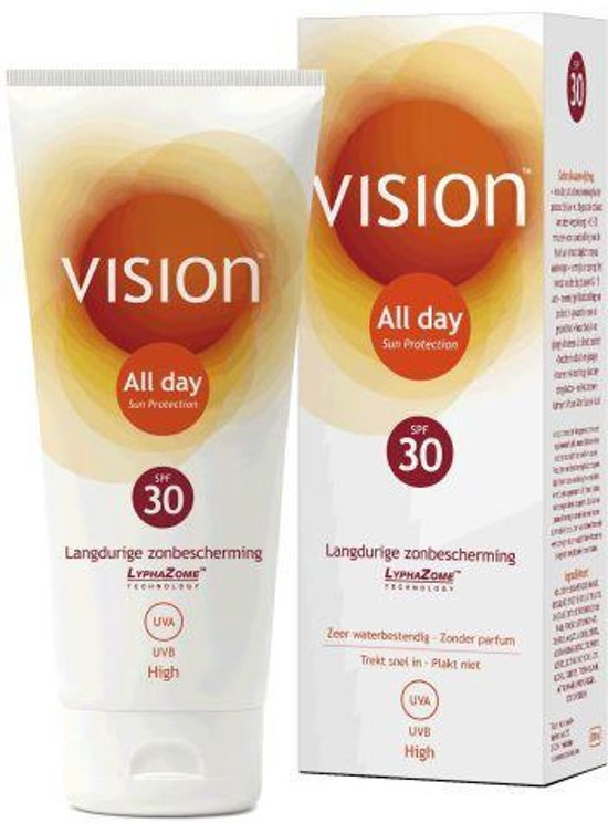 Vision All Day Sun Protection SPF30 - 200 ml - Zonnebrand lotion