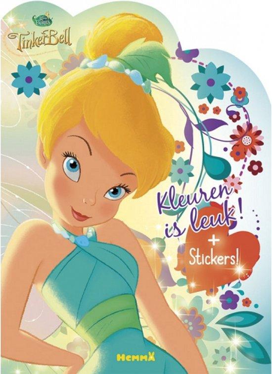 Alle Kleurplaten Van Tinkerbell.Bol Com Tinkerbel Kleurboek Met Stickers Disney Speelgoed