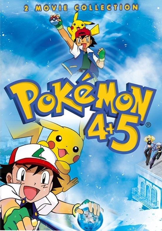 Cover van de film 'Pokemon Box 1: 4Ever & Helden'