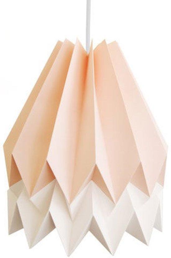 orikomi origami duo lampenkap papier 30 cm roze en wit. Black Bedroom Furniture Sets. Home Design Ideas