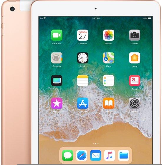 Apple iPad (2018) - WiFi + Cellular (4g) - 32GB - Goud