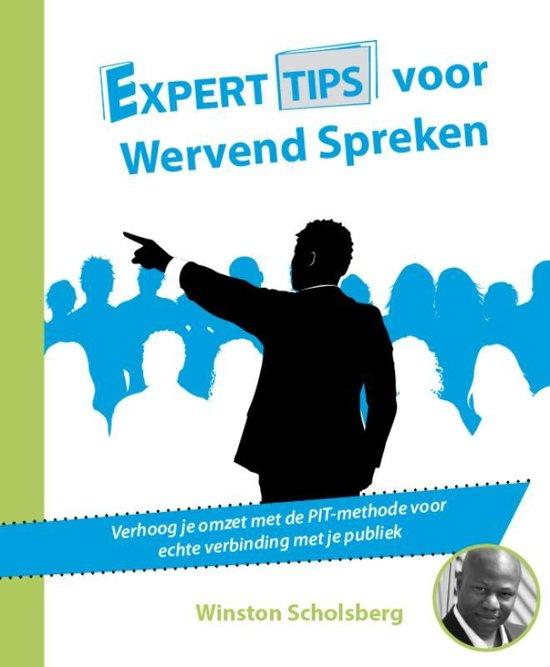 Experttips boekenserie - Experttips voor Wervend Spreken