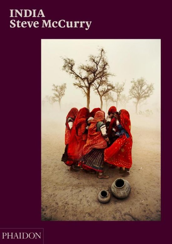 Boek cover India van Steve McCurry (Hardcover)
