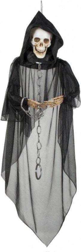 Halloween horror skelet hangdecoratie 150 cm for Hangdecoratie raam