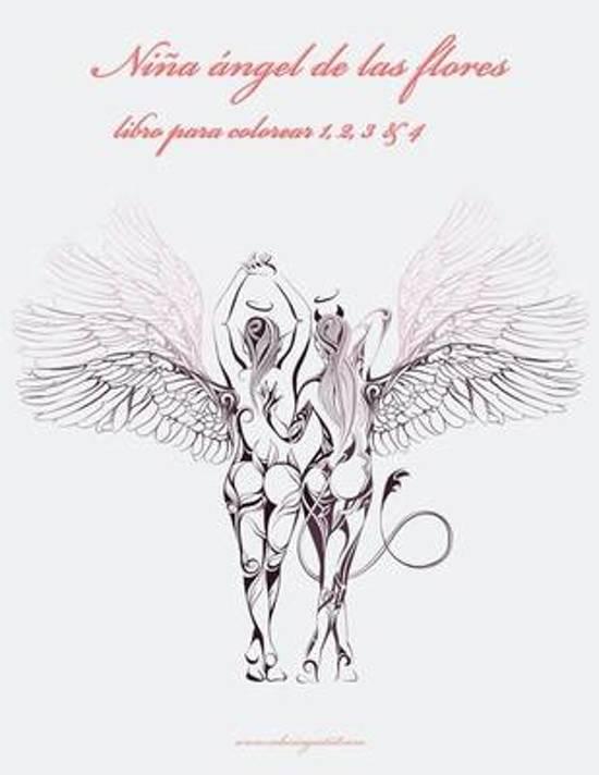 bol.com | Nina Angel de Las Flores Libro Para Colorear 1, 2, 3 & 4 ...