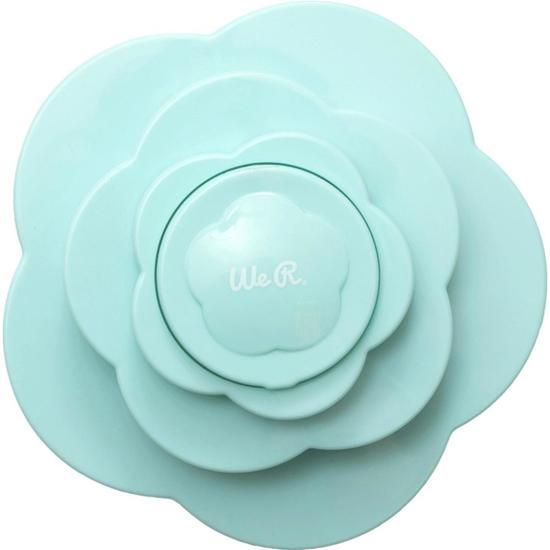 We R memory Keepers - Bloem Embellishment mini Storage - Mint