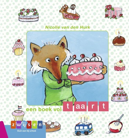 Kleuters samenleesboek - Een boek vol taart