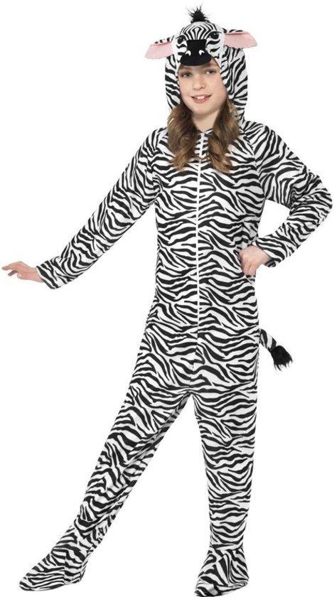 a46182fa0c7 Zebra kostuum voor kinderen maat 146-158 - Carnavalskleding onesie