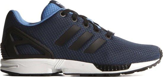 adidas zx flux blauw wit