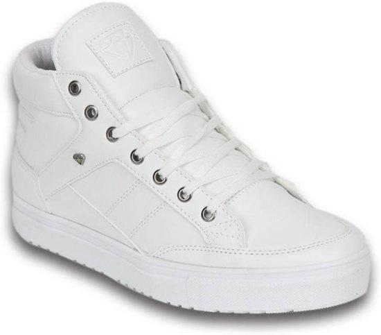 Sneaker 40 Mid Maten Cash M Schoenen Wit Heren High qxttFH