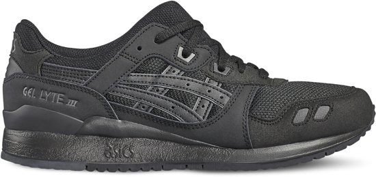 Asics Gel Lyte Iii H7n3n-9090, Unisexe, Noir, Chaussures De Sport Taille 36 Eu