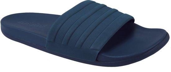 6357c6dd446 bol.com | adidas Adilette Cloudfoam S80976, Mannen, Blauw, Slippers ...